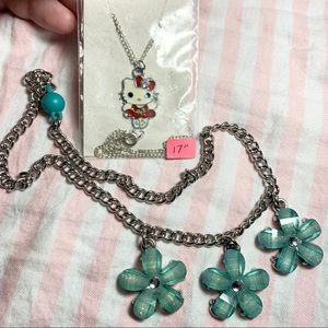 Necklace lot of 2 3/13$